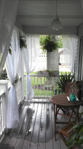 front porch with curtains this would be so cool my sunny outdoor deck curtains