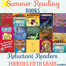 summer reading book list for reluctant readers aka kids who don tlike to read