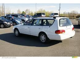 1996 Super White Toyota Camry LE V6 Wagon #48520122 Photo #3 ...