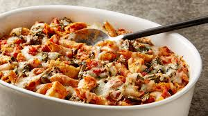healthy chicken pasta recipes. Simple Chicken Healthy Three Cheese Chicken Pasta Bake In Recipes E