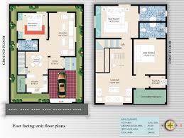 alluring south facing house plans indian style plan for plot with two bedrooms inspirational
