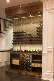 Modern Cable Wine System Wine Cellar by Papro Consulting
