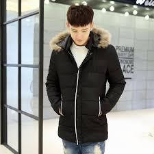 new fashion long winter jacket men s parka coat thick mens winter with natural fur hooded jacket