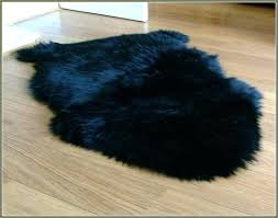 ikea sheepskin rug faux fur black review washing machine