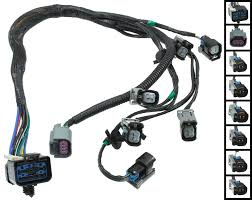 com apdty 022190 fuel rail fuel injector wiring pigtail connector complete harness fits v6 3 3l or 3 8l 2001 2002 grand voyager 2001 2003 town