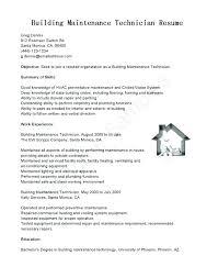 General Maintenance Resume Impressive General Maintenance Worker Resume Sample Building Templates