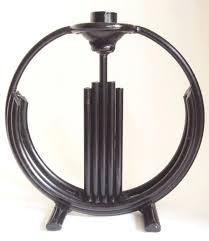 cast large pair of art black enameled hand wrought iron candlesticks for candle chandelier uk