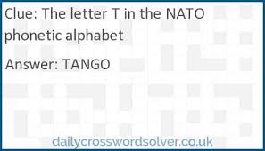 A 26 question printable phonetic alphabet crossword with answer key. The Letter T In The Nato Phonetic Alphabet Crossword Clue Dailycrosswordsolver Co Uk