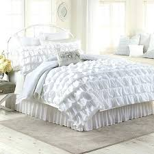 lc lauren conrad bedding favorite space this pretty white bedroom featuring the bedding set from my lc lauren conrad bedding lily reversible comforter set