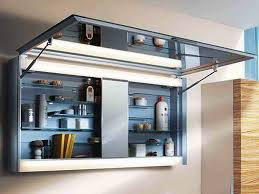 modern bathroom medicine cabinets with lights style — home ideas