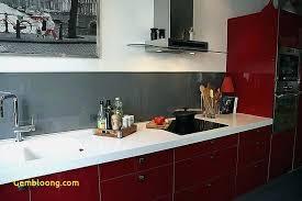 Beau Cuisine Rouge Et Gris Moderne Elegant Decoration Salon Noir Et
