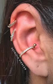 Conch Piercing Piercing Concha Piercings Em 2019 Piercings