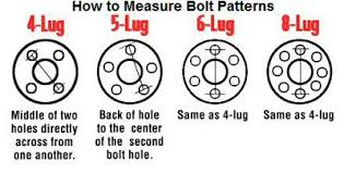 How To Measure Bolt Pattern Magnificent A Guide To Making Sure Your New Rims Will Fit Your Truck