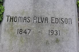 Image result for Edison died in 1931 at the age of 84