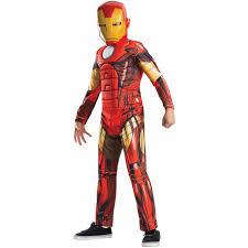 Avengers Assemble Deluxe Iron Man Boysu0027 Child Halloween Costume    Walmart.com
