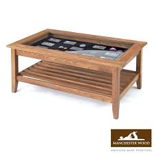 coffee table round wooden table with glass top round