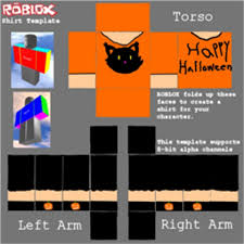Halloween Black Cat Template - Roblox