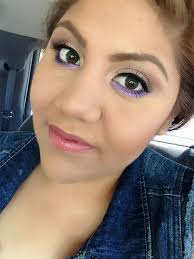 pop of color on lower lash line neutral lid on top using m a c s eyeshadow in jest and woodwinked in the crease lashes are m a c s no 35