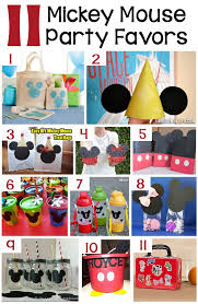 mickey mouse diy birthday party ideas