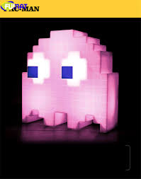 Fumat Cartoon Usb Pac Man Game Theme Color Night Light Led Ghost Lights Bedroom Kids Room Holiday Home Decoration Night Lights