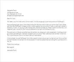Resignation Template For Quitting A Job Email Leaving Bank