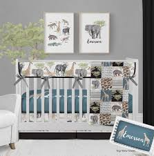 safari crib bedding baby nursery