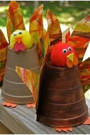 Fall craft projects for kids to make - fun and easy turkey made with a solo
