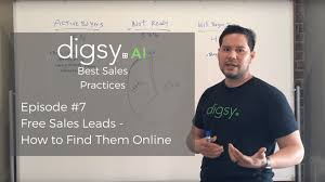 Free Sales Leads How To Find Them Online Video