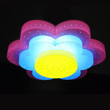kids lighting ceiling. Cartoon Children\u0027s Room Lamp Led Ceiling Lights Kids Boys And Girls Bedroom Light Pink Flowers Blue Lighting On Aliexpress.com | Alibaba Group L