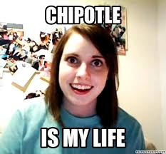 Image result for chipotle queso memes
