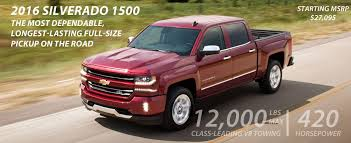 Compare Silverado Truck To Competitors - Bridgewater Chevrolet