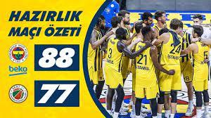 ÖZET: Fenerbahçe Beko 88-77 Semt77 Yalovaspor Basketbol - YouTube