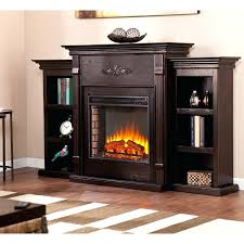 southern enterprises electric fireplaces classic espresso electric fireplace w bookcases southern enterprises jordan electric fireplace ivory