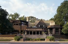 Frank Lloyd Wrightu0027s Magnificent Darwin Martin House In Buffalo Frank Lloyd Wright Home And Studio Floor Plan