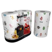 «бумажные <b>World Cart Полотенца кухонные</b> Angry Birds -х ...