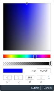 Color Picker Popover Sap Fiori Design Guidelines