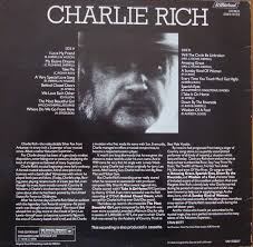 Charlie Rich The Most Beautiful Girl 2094 0103 A2 B1 Country