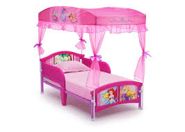 kids bed side view. Exellent Kids Delta Children Princess Canopy Toddler Bed Right Side View A1a  With Kids