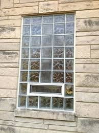 glass block windows cost large size of glass block windows glass block basement windows with air