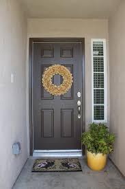 spray paint the front door