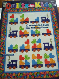 Kids Patchwork Quilts – co-nnect.me & ... Quilts For Sale King Size Crazy Quilts For Beginners Quilts For Kids  Book Train Quilts Bear ... Adamdwight.com