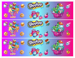 Shopkins Birthday Cake Edible Ribbon Border Rice Wafer Papericing