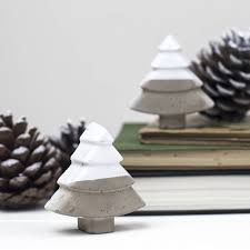 Concrete Christmas Tree Decorations