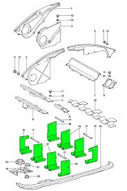 engine tin baffle kit parts porsche l l l zoom in 2