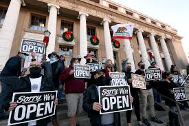 Victoria premier daniel andrews announced the lockdown for the state, starting at midnight on friday, calling it a short, sharp circuit breaker. Covid 19 Slams San Joaquin Valley Hospitals As Many Resist Restrictions Los Angeles Times