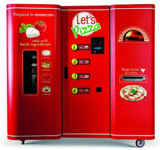 Small Snack Vending Machine Interesting First Pizza Vending Machine In US Hits Market Quench Vending