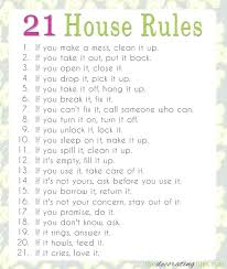 House Rules For Roommates Template House Rules For Roommates Kasitular Site