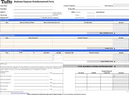 Reimbursement Template Free Business Expense Reimbursement Form Xls 101kb 1