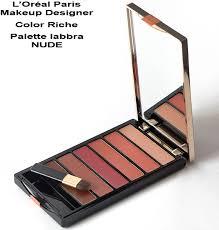 L Or Al Paris Make Up Designer Color Riche Lip Palette Colore