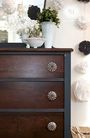 Staining Bedroom Furniture 17 Best Ideas About Stained Dresser On Pinterest Paint Stain